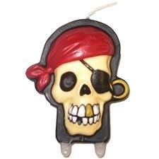 Piraat / verjaardagstaart kaars
