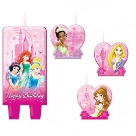 Prinsessen feest  / taart kaarsjes
