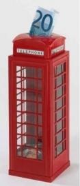 ME Spaarpot Engelse rode telefooncabine