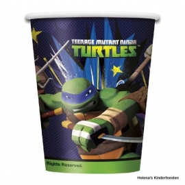 Kinderfeest bekers /  Teenage Mutant Ninja Turtles