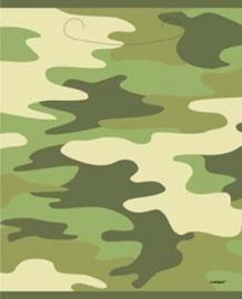 Camouflage - leger / feest zakjes