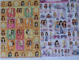 AC Bratz stickers