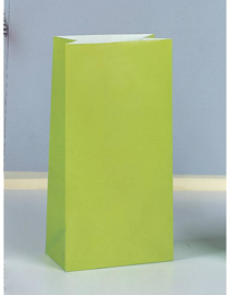 SE Papieren Zakjes / party - Lime