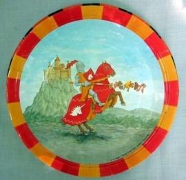 Feestbordjes / Ridder kinderfeest