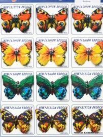 Broche blikken vlinder