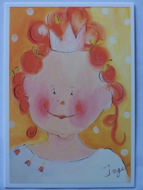 Kinderkaart / Prinses