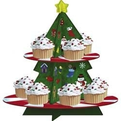 Cupcake stand  / plateau / kerstboom