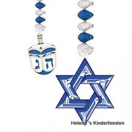 PP Hanukkah feest hangdecoratie