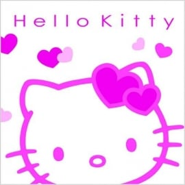 Hello Kitty kinderfeest servetten
