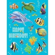 Oceaan onderwater / stickers