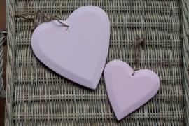 TI Hart hout roze