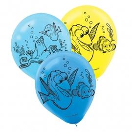 Finding Dory kinderfeest ballonnen