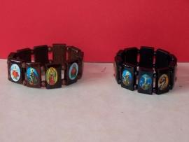 Armband  / heilige figuren groot