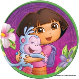 Dora the Explorer feest bordjes