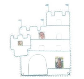 Kaarthouder - kasteel blauw / ridder