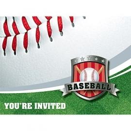 Honkbal / feest uitnodiging