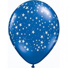 Ballon /  Stars sapphire blue