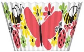 Cupcake vormpjes  / vlinders voorjaar