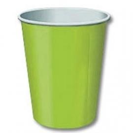 SE Beker effen Lime