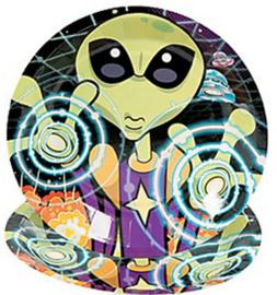 Alien Attack feest bordjes