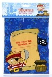 Piraat little / feest traktatie zakjes