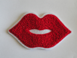 Applicatie - patch Cartoon Red Lips