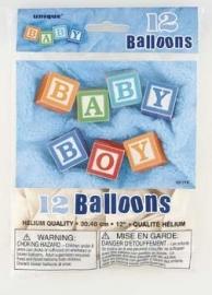 SE Baby born boy ballonnen