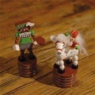 Sint of Piet / beweegbaar figuurtjes