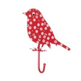 LT Haakje vogel rood