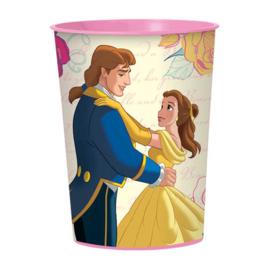 Belle en het Beest / feest plastic beker