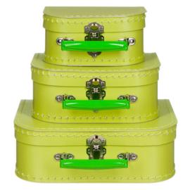 Kinderkoffertje | Groen