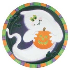 Bordjes ghost- geest / Halloween - griezelfeest