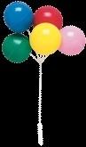 AR Ballonnen taart topper