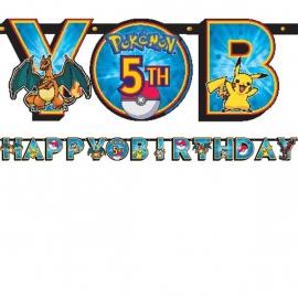 Pokemon / feest Jumbo wenslijn