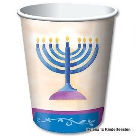 PP Hanukkah feest bekers