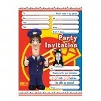 Pieter Post feest uitnodigingen