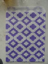 Kado- traktatiezakjes / Flowers / 13x18cm / 5stk