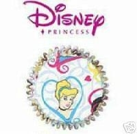 PP Prinses cup cake vormpjes