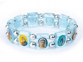 Armband / Blauwe heilige