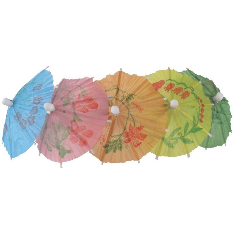 Ijsprikkers / parasol - parapluutjes assortie / 20stk