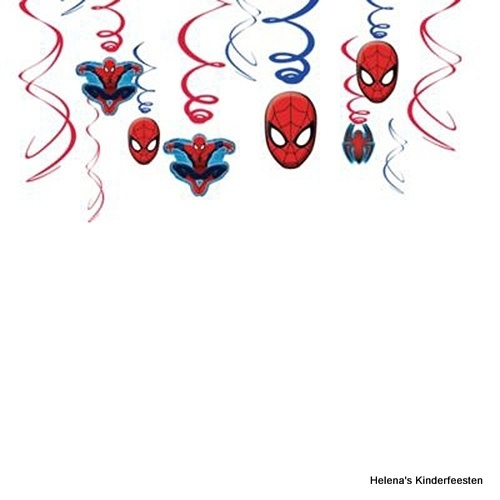 Spiderman / hang- draaidecoratie