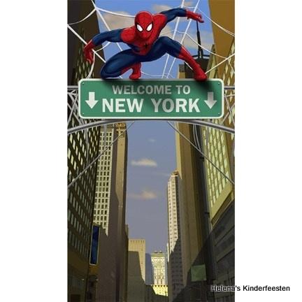 Deurposter /  Spiderman feest