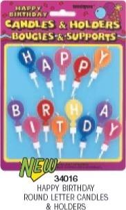 Verjaardagskaarsjes /  Happy birthday
