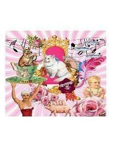 Etui / Kunstboer / pink