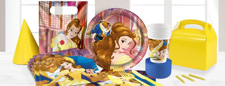 Belle en het beest kinderfeest feestartikelen