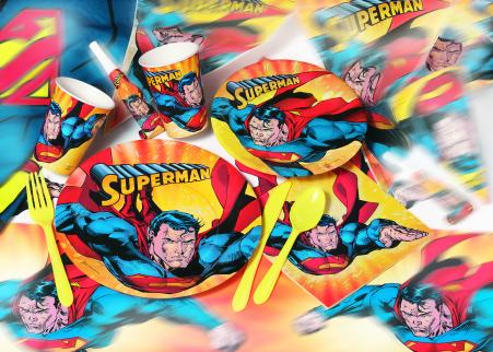 superman feestartikelen kinderfeest
