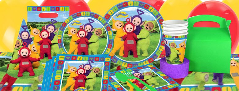 teletubbies kinderfeest artikelen party