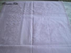 Vintage zijdendamast tafellaken  no 74