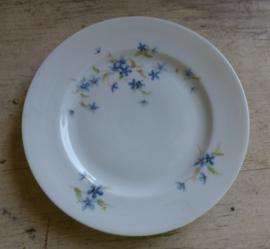 Oud porseleinen Limoges eet en ontbijtservies