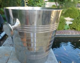 Oude verzilverde champagne koeler  no  407